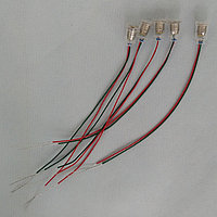 Патрон для ламп E10 изолированный с проводками