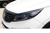 Реснички на фары Kia sportage 2014+