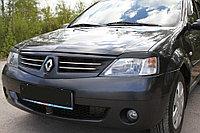 Реснички на фары  Renault Logan 2004-2013, фото 1
