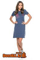 Платье поло синее, фото 1