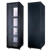 Шкаф серверный, SHIP, 601.6620.03.100, 103 серия, 19'' 20U, 600*600*1000 мм, Ш*Г*В, IP20, Чёрный
