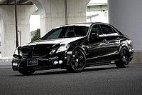 Оригинальный обвес WALD на Mercedes-Benz E-class W212, фото 1