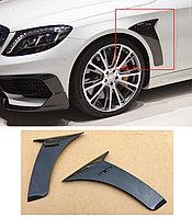 Карбон накладки на крылья BRABUS для Mercedes Benz W222, фото 1