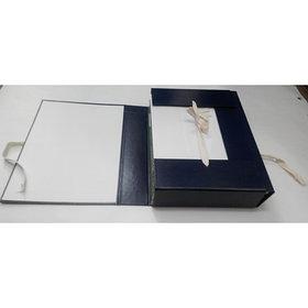 Папка архивная на завязках, бумвенил, картон
