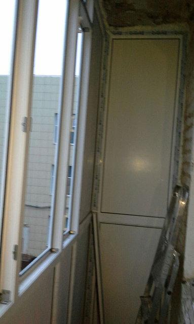Остекление и обшивка балкона без утепления ул. Жангильдина 26. 18