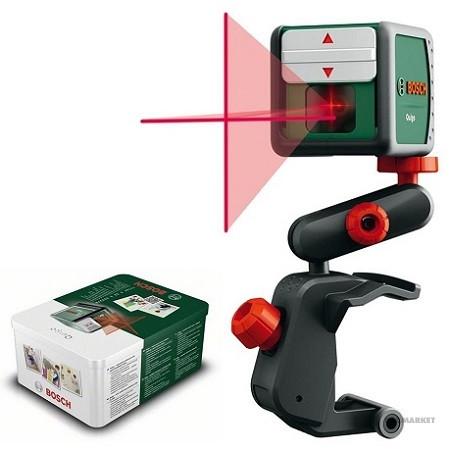 Лазерный нивелир Quigo + держатель MM 2 (0603663220)//Bosch
