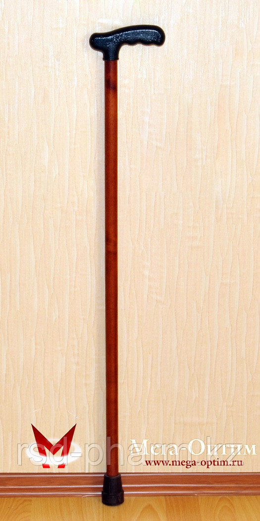 Трость деревянная ИПР-Ш с зимним выдвижным штырем против скольжения