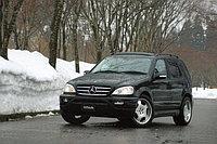 Оригинальный обвес WALD на Mercedes-Benz ML-class W163