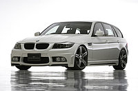 Оригинальный обвес WALD на BMW 3 E91, фото 1