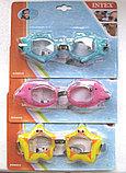 Очки для плавания 'Рыбки' Intex , фото 3