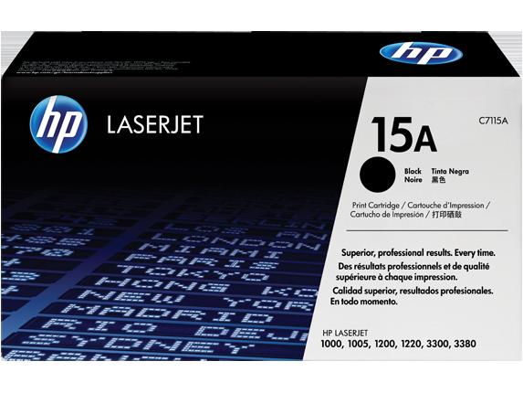 HP C7115A Картридж лазерный черный HP 15A