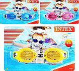 Очки для плаванья детские Intex Junior Goggles 55601, фото 5