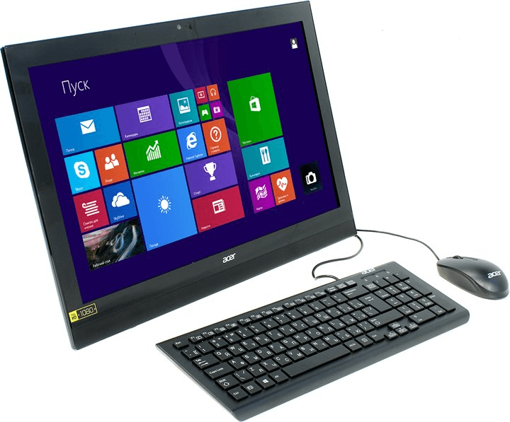 """Моноблок Acer Aspire Z1-623 21.5"""" (Дискретная видеокарта и Windows 10)"""