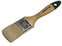 """Кисть плоская STAYER  """"UNIVERSAL-EURO"""", светлая натуральная щетина, деревянная ручка, 38мм"""