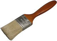 """Кисть плоская STAYER """"LASUR - LUX"""", деревянная ручка, смешанная щетина, 25мм"""