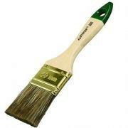 """Кисть плоская STAYER """"LASUR-STANDARD"""", смешанная (натуральная и искусственная) щетина, деревянная ручка, 75мм"""