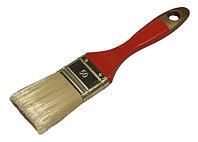 """Кисть плоская STAYER  """"AQUA-KANEKARON"""", искусственная щетина, деревянная ручка, 38мм"""