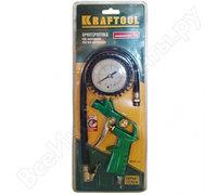"""Пистолет KRAFTOOL """"EXPERT QUALITAT"""" для подкачки шин, максимальное давление 15 атмосфер"""