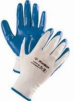 """Перчатки ЗУБР """"МАСТЕР"""" маслостойкие для точных работ, с нитриловым покрытием, размер L (9), 11276-L"""