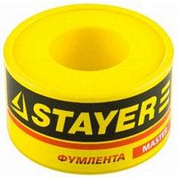 "Фумлента STAYER ""MASTER"", плотность 0,25 г/см3, 0,075ммх19ммх10м"