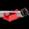 """Набор ЗУБР """"МАСТЕР"""": Стусло пластмассовое + ножовка с пластиковой рукояткой с усиленным обушком, стусло MIDI-PLUS, 2,5"""", ножовка 295мм"""