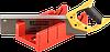 """Набор STAYER """"MASTER"""": пластмассовое + ножовка с 2-комп рукояткой, усиленный обушок, стусло MAXI 4"""" (для заготовок 100ммх52мм) в комплекте с ножовкой"""