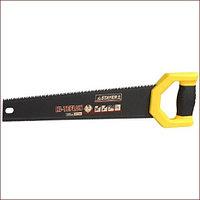 Ножовка двусторонняя (пила) STAYER DUPLEX 400 мм, 12 TPI прямой зуб + 7 TPI 3D универсальный зуб, тефлоновое покрытие