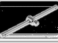 """Вороток ЗУБР """"МАСТЕР"""" T-образный для торцовых головок (1/2""""), Cr-V, хроматированное покрытие, 250мм"""