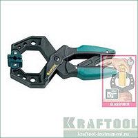 """Струбцина KRAFTOOL """"EcoKraft"""" ручная, пластиковый корпус, 0-100мм"""