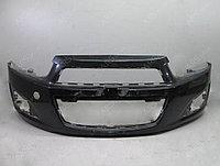 Передний бампер на Сhevrolet Aveo T300 (2011-2014)