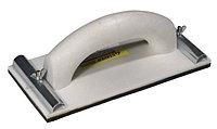Терка STAYER для шлифования с металлическим фиксатором, 120x230мм