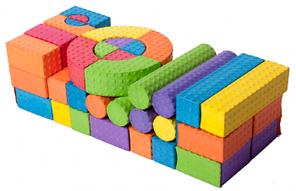 Игровой набор 54 блоков