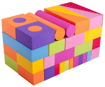 Игровой набор 56 блоков