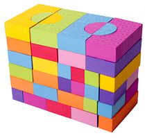 Игровой набор 68 блоков