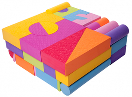 Игровой набор EVA 48 блоков
