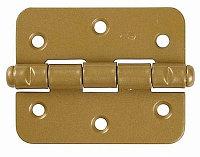 """Петля накладная стальная """"ПН-60"""", цвет бронзовый металлик, универсальная, 60мм"""