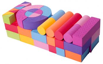 Игровой набор EVA 50 блоков