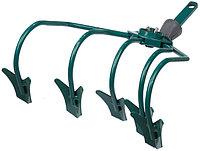 Культиватор RACO, с бороздовичками, 5 зубцов, с быстрозажимным механизмом, 250мм
