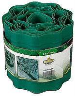 Лента бордюрная RACO, цвет зеленый, 15см х 9 м