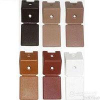 Уголок мебельный ЗУБР с шурупом, цвет черный, 4,0x15мм, ТФ6, 4шт