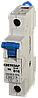 """Выключатель СВЕТОЗАР автоматический, 1-полюсный, """"С"""" (тип расцепления), 10 A, 230 / 400 В"""