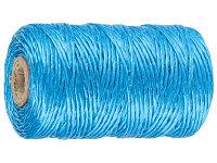 Шпагат ЗУБР многоцелевой полипропиленовый, синий, 1200текс, 60м