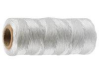 Шпагат STAYER многоцелевой полипропиленовый, белый, 800текс, 60м