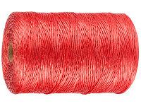 Шпагат STAYER многоцелевой полипропиленовый, красный, 800текс, 110м