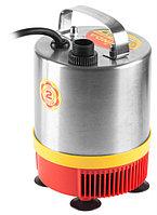Насос GRINDA фонтанный д/чистой воды, нерж. сталь, 3 насадки, пропуск. способ. 1750 л/ч, высота подачи воды 2,3 м, 50 Вт