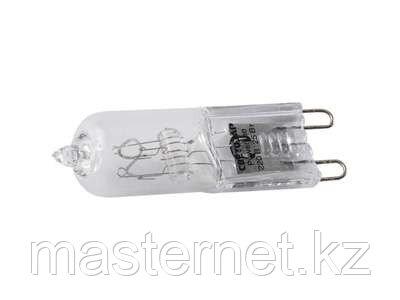 Лампа галогенная СВЕТОЗАР капсульная, прозрачное стекло, цоколь G9, диаметр 13мм, 25Вт, 220В