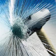 Бронированное многослойное стекло