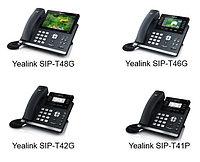 Обновленное программное обеспечение для телефонов линейки Yealink T4