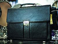 "Мужская сумка-портфель ""SEHGAL"", 28х38см (черная)"