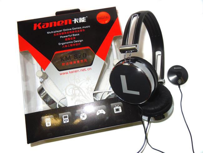 Наушники Kanen KM-870